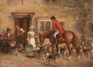 Art Prints of The Refreshment by John Sanderson Wells