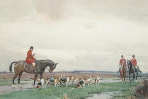 Art Prints of The Meet by John Sanderson Wells