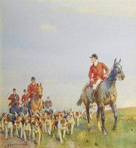 Art Prints of The Pack by John Sanderson Wells