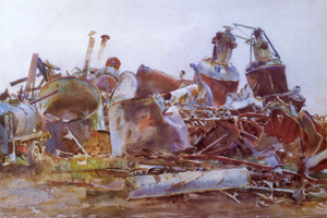 Art Prints of A Wrecked Sugar Refinery by John Singer Sargent
