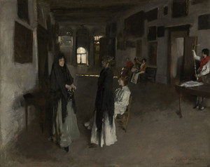 Art Prints of A Venetian Interior by John Singer Sargent