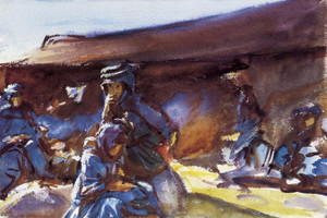 Art Prints of Black Tent by John Singer Sargent