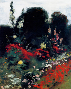 Art Prints of Corner of the Garden by John Singer Sargent