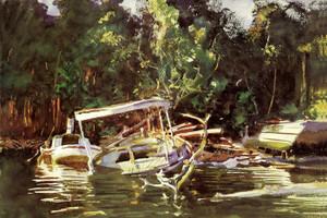 Art Prints of Derelicts by John Singer Sargent