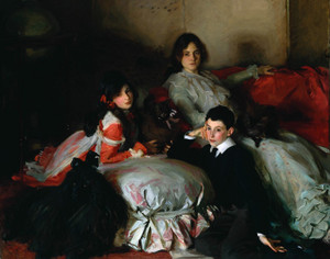 Art Prints of Essie and Ruby Ferdinand by John Singer Sargent