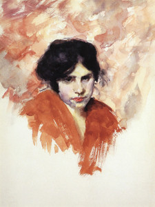 Art Prints of Head of a Venetian Model by John Singer Sargent