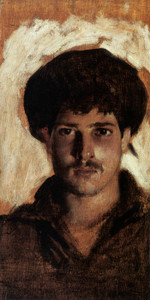 Art Prints of Head of a Young Man by John Singer Sargent