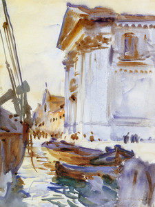 Art Prints of I Gesuati or Santa Maria del Rosario by John Singer Sargent