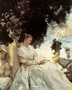 Art Prints of In the Garden, Corfu by John Singer Sargent