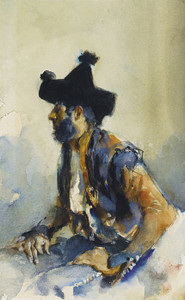 Art Prints of King of the Gypsies by John Singer Sargent