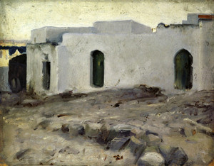 Art Prints of Moorish Buildings on a Cloudy Day by John Singer Sargent