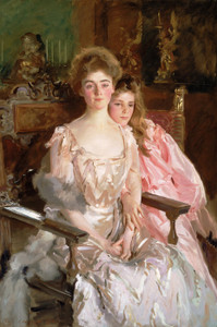 Art Prints of Mrs. Fiske Warren and her Daughter Rachel by John Singer Sargent