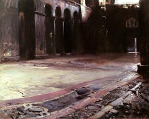 Art Prints of Pavement of Saint Marks, Venice by John Singer Sargent