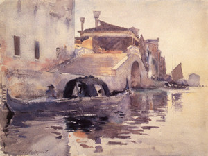 Art Prints of New Bridge Panada by John Singer Sargent