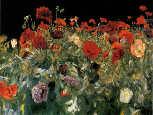 Art Prints of Poppies by John Singer Sargent