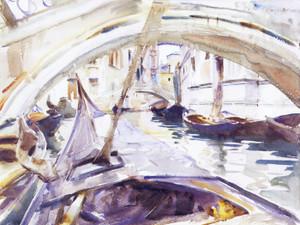 Art Prints of Rio de Santa Maria Formosa, Venice by John Singer Sargent