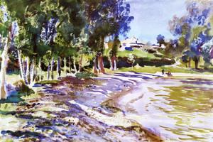 Art Prints of San Vigilio Lago di Garda by John Singer Sargent