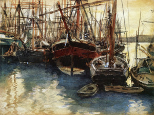Art Prints of Ships and Boats by John Singer Sargent