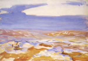 Art Prints of The Desert from Jerusalem by John Singer Sargent