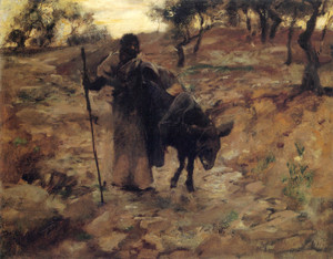 Art Prints of The Flight into Egypt by John Singer Sargent