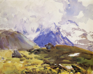 Art Prints of The Simplon by John Singer Sargent