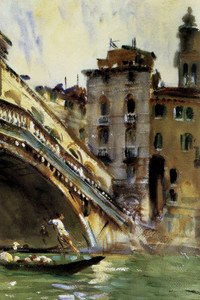 Art Prints of The Rialto, Venice by John Singer Sargent
