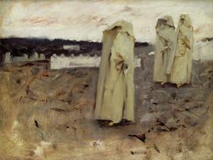 Art Prints of Three Berber Women by John Singer Sargent