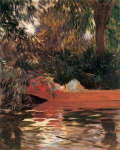 Art Prints of Under the Willows by John Singer Sargent