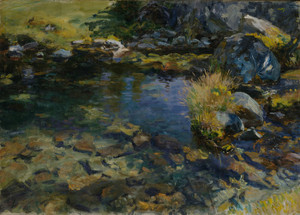 Art Prints of Alpine Pool by John Singer Sargent
