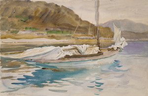 Art Prints of Idle Sails by John Singer Sargent