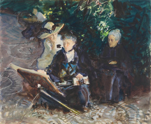 Art Prints of In the Generalife by John Singer Sargent
