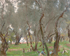 Art Prints of Olive Trees II by John Singer Sargent