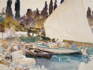Art Prints of Boats by John Singer Sargent