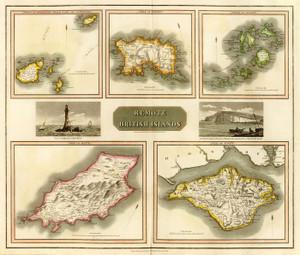 Art Prints of Remote British Islands, 1817 (1007014) by John Thomson