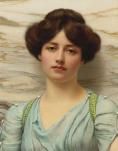 Art Prints of Carina by John William Godward