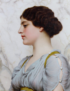 Art Prints of A Roman Beauty by John William Godward