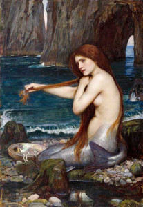 Art Prints of Mermaid by John William Waterhouse