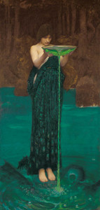 Art Prints of Circe Invidiosa by John William Waterhouse