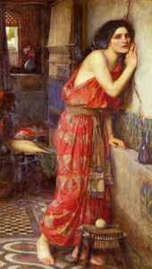 Art Prints of Thisbe by John William Waterhouse