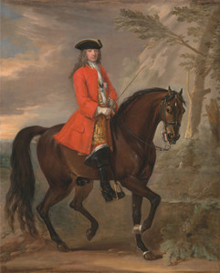 Art Prints of Portrait of a Man on Horseback by John Wootton