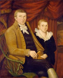Art Prints of Father and Son by Jonathan Budington