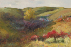 Art Prints of Rolling Landscape by Joseph Henry Sharp