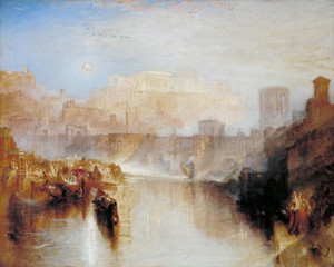 Art Prints of Agrippina Landing with the Ashes of Germanicus by William Turner