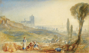 Art Prints of A Distant View of Brussels by Joseph Mallord William Turner