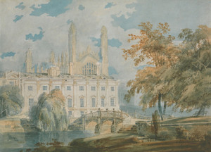 Art Prints of Clare Hall and King's College Chapel by Joseph Mallord William Turner