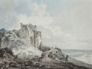 Art Prints of The Constables Tower, Dover Castle by William Turner