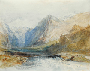 Art Prints of The Domleschg Valley by Joseph Mallord William Turner