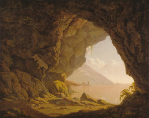 Art Prints of Cavern near Naples by Joseph Wright of Derby