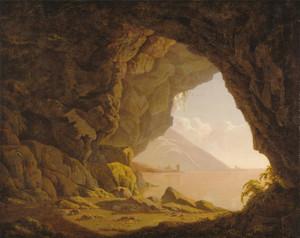 Art Prints of Cavern near Naples by Joseph Wright of Derby