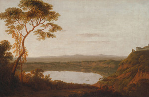 Art Prints of Lake Albano by Joseph Wright of Derby